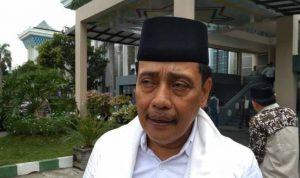 Ketua nu jatim hasan mutawakkil alallah di masjid-al akbar surabaya